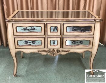 7484-8 - French Sty Mirror Front Chest on Legs