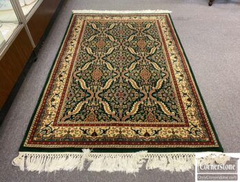 7490-55 - Hand Knotted Wool Rug