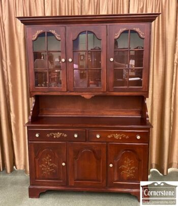 7506-2 - Hitchcock Sold Maple China Cabinet