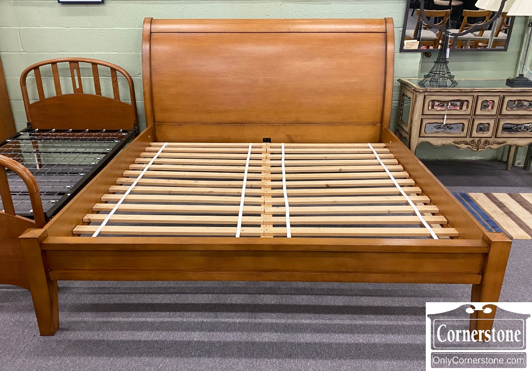 Pottery Barn Valencia King Sleigh Bed Baltimore Maryland Furniture Store Cornerstone