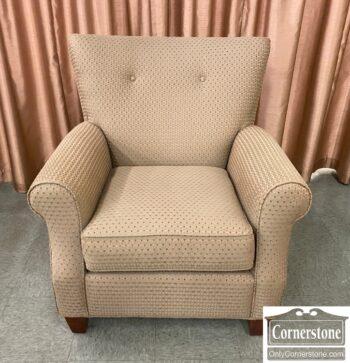 7516-1 - Kincaid Contemp Green Uph Chair