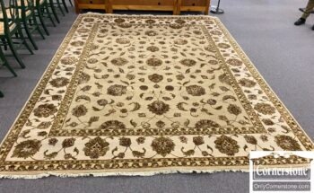 7520-1 - Hand Knotted Indo Rug
