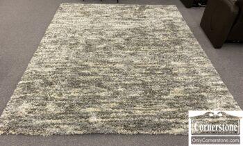 7526-1 - Gray Shag Rug
