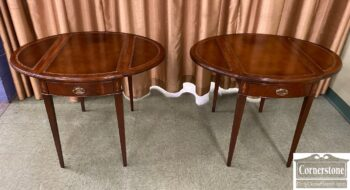 7528-5 - Pr Mah Hepp LT Pembroke Tables