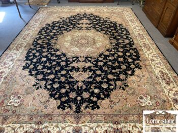 Indo Hand Knotted Rug