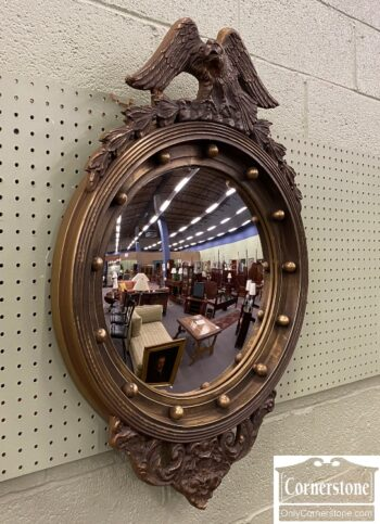 7556-9 - Bullseye Mirror with Eagle