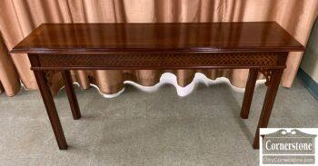 7563-3 - Mah Chipp Sofa Table Banded Top