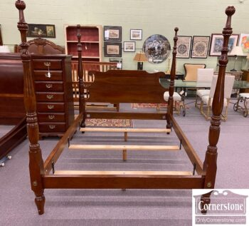 7566-1 - Stickley Queen Poster Bed