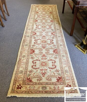 7576-1 - Pakistani Hand Knotted Runner