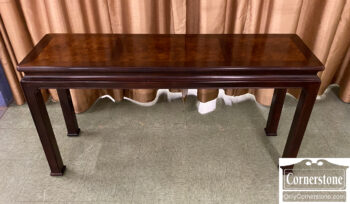 7584-1 - Henredon Mixed Wood Sofa Table