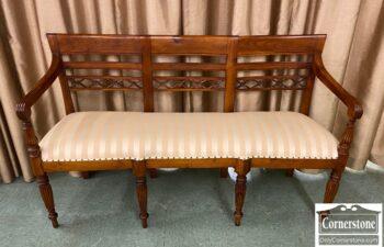 7608-1 - Regency 3 Seat Chairback Bench w Arms
