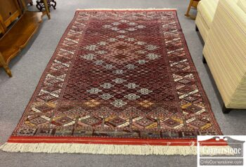 7617-3 - Hand Knotted Wool Rug