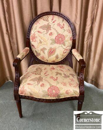 7626-117 - Fairfield Exp Wood Arm Chair