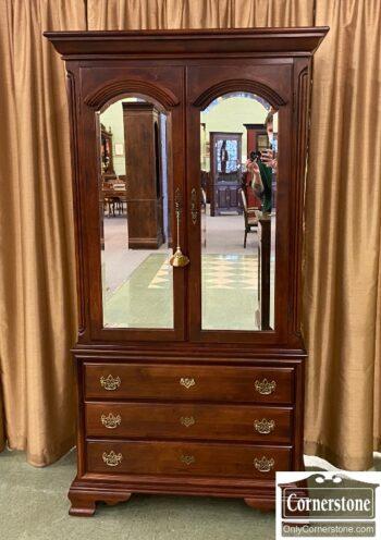 7626-133 - Mobel Armoire Mirrored Doors