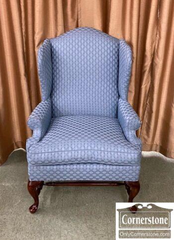 7626-156 - Fairfield Wing Chair Lt Blue