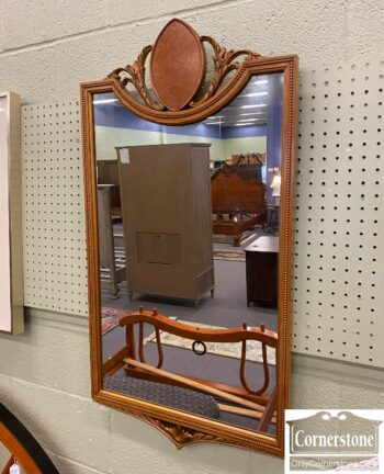 7626-237 - Vintage Maple Mirror