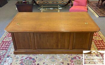 7626-238 - Cabinet Made Exec Desk