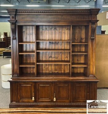 7626-254 - Made in Italy Lg 2 Part Bookcase