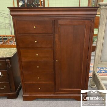 7626-271 - Cherry Chifferobe Armoire Wardrobe