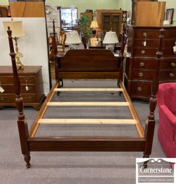 7626-323 - Solid Cherry Full Poster Bed