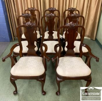 7626-331 - Stickley 8 QA Dining Chairs