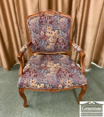 7626-333 - Exposed Wood Occasional Chair