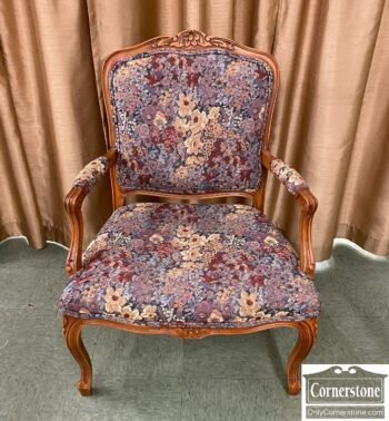 7626-334 - Exposed Wood Occasional Chair