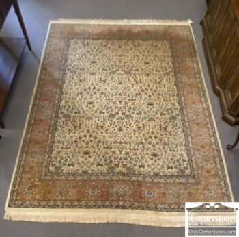 7626-344 - Hand Knotted Wool Room Size Rug