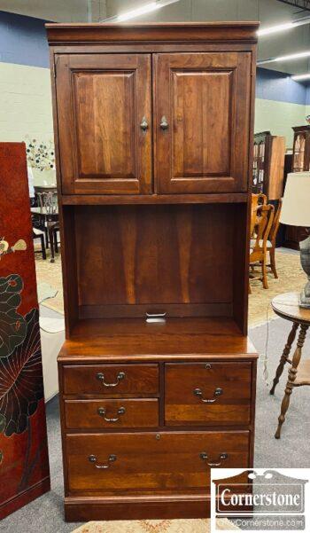 7626-382 - Lexington Cher File Cab Bookcase Top