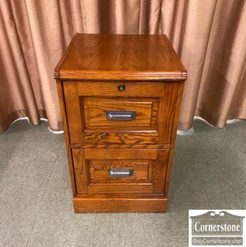 7626-432 - 2 Drw Oak File Cabinet