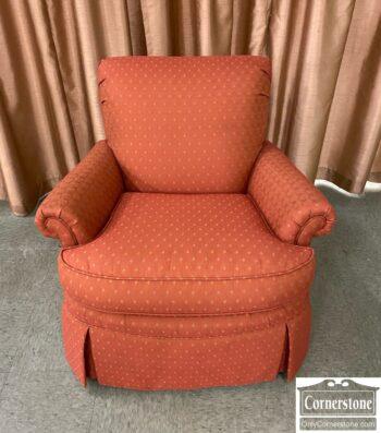 7626-454 - Harden Furn Club Chair Rust Gold