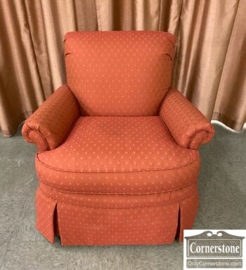 7626-455 - Harden Furn Club Chair Rust Gold