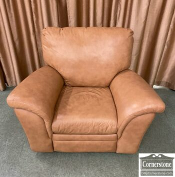 7626-457 - Modern Tan Leather Recliner