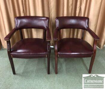 7626-459 - Pr Red Vinyl Office Chairs
