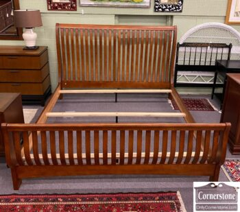 7626-460 - Mission Style King Bed