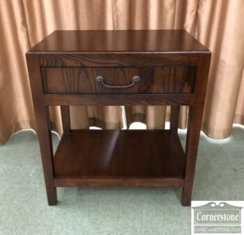 7626-467 - Hickory Chair Bedside End Table