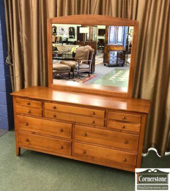 7626-537-Crawford Dresser with Mirror