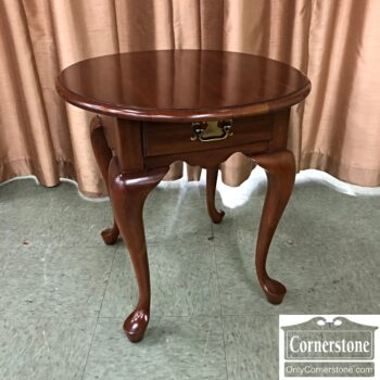 used queen anne end table