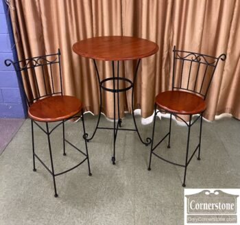 7626-581-3pc Counter Height Bistro Set