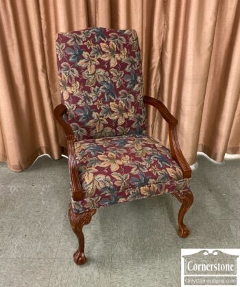 7626-591-Exposed Wood Occasional Chair