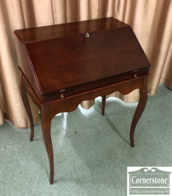 7626-626-Slant Front Cherry Desk on Legs