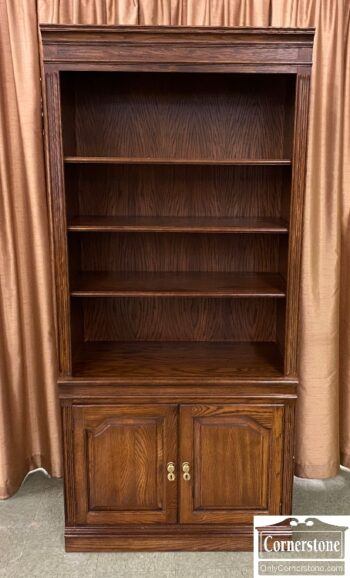 7660-1 - PA House Oak Bookcase