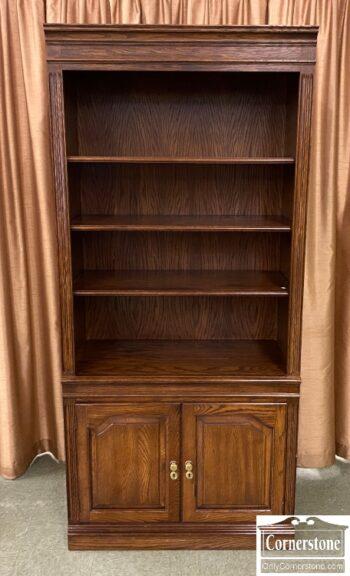 7660-2 - PA House Oak Bookcase