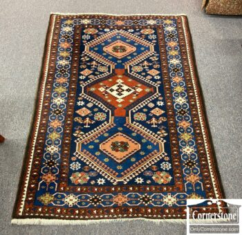 7664-8 - Hand Knot Wool Pers Yalameh Rug