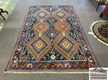 7664-9 - Wool Hand Knotted Rug