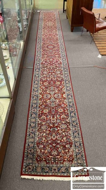 7671-10 - Hand Knotted Wool Runner