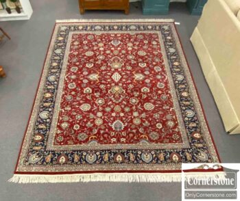 7671-12 - Hand Knotted Wool Rug