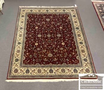 7671-13 - Hand Knotted Wool Room Size Rug