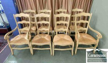 7672-1 - 8 Habersham Ladderback Chairs