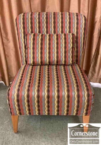 7673-2 - Contemp Occ Chair Zig Zag Stripes